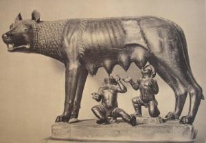 Louve Remus Romulus