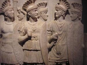 soldats antiques