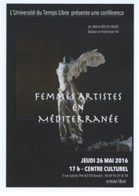 femmes artistesmédit